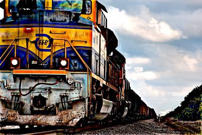 Pulling Train