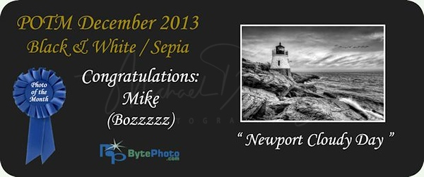 Photo Of The Month - December  2013  Black and White