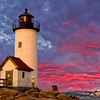 Harbor Light - Annisquam Lighthouse near Gloucester Massachusetts.  2008 Leonard Victor Award winner 1st Place