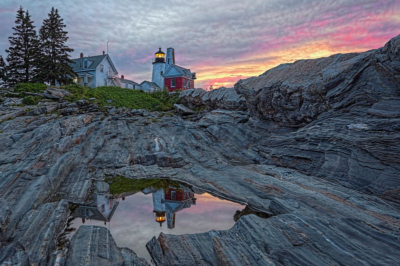 2020 Digital Landscapes 1st Place - MDiRenzo-Pemaquid Point at Dawn 1680 w65