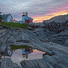 Pemaquid Point at Dawn 1680 w65