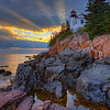 27 - 9 0 - Bass Harbor Heavenly Sunset 0446 w57 16x20  test 4x6