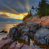 Bass Harbor God's Rays 0446 w57 16x20