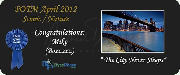 Photo of the Month - April 2012