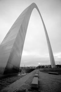 The Gateway Arch, St. Louis.
