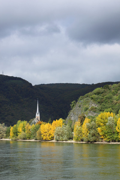 View from the Rhine... light and dark