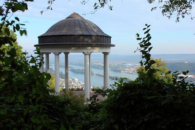 View from Niederwald Monument, Rudesheim, Germany