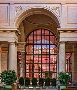 Potsdam Orange Red Room