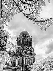 Berlin Cathedral in IR