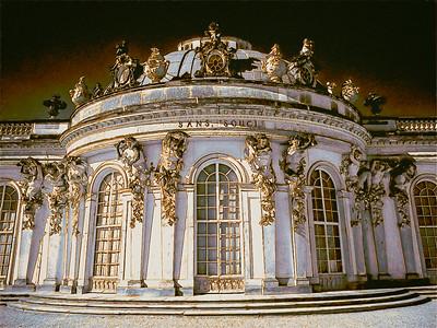 Potsdam Palace in IR