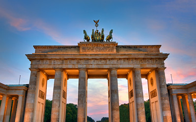 Brandenburg Gate in Berlin