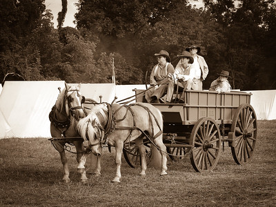 Confederate Supply Wagon