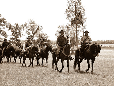 Confederate Cavalry Slowed