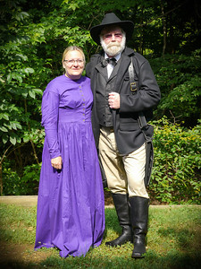 Doc and Dixie Civil War Re-Enactors
