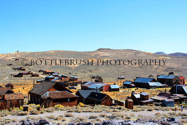 Town of Bodie, California.
