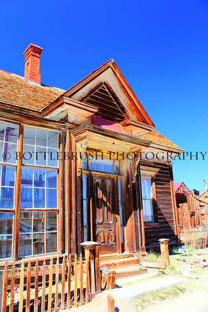 James Stuart Cain's house in Bodie, California.