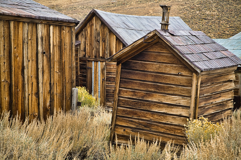 Buildings - Bodie Ghost Town, California
