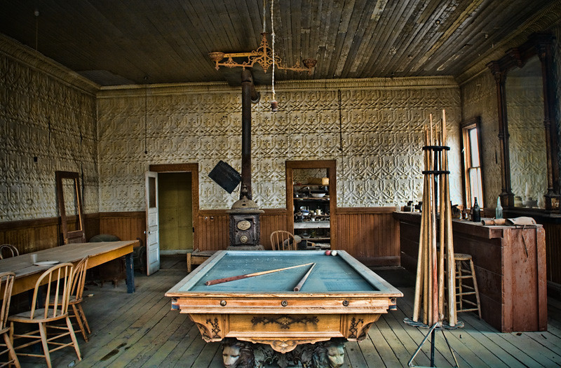 Pool Hall 1 - Bodie Ghost Town, California