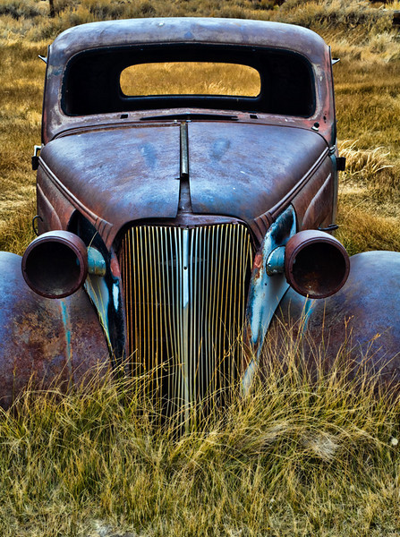 Car Hulk - Bodie Ghost Town, California