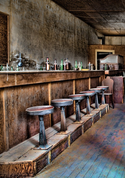 Saloon - Bodie Ghost Town, California