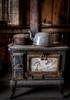 Kitchen - Laws Railroad Museum - Bishop, CA