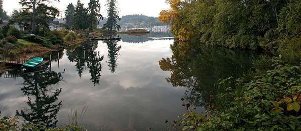 North west end of Gig Harbor Bay