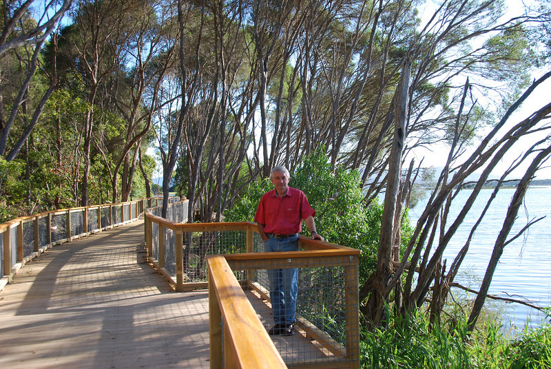 Vern Darby, Design Consultant, Pathways Project at Mallacoota