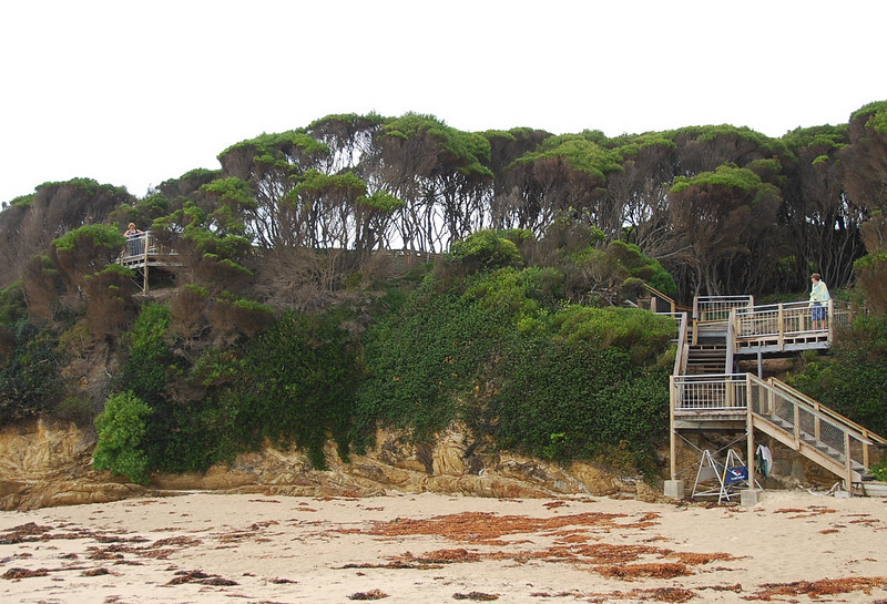 Bastion Point lookout and access to big beach