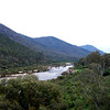 The Snowy River upstream of the McKillops Bridge..