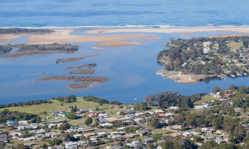 Mallacoota, view out to sea