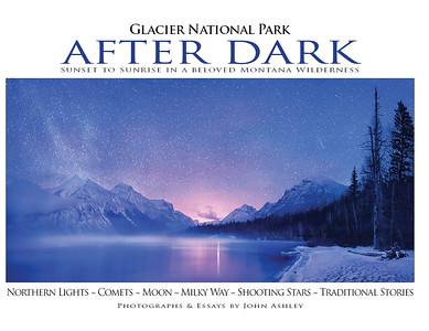 """""""Glacier National Park After Dark"""" book cover"""