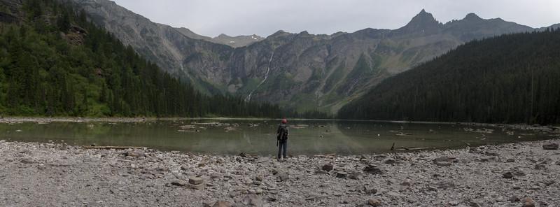 Avalanche Lake, Glacier National Park, 2005.
