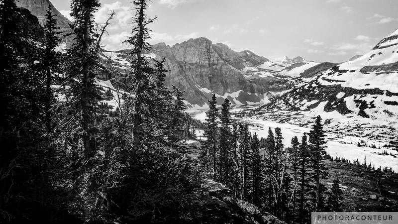 Hidden Lake of Glacier