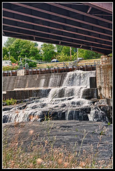 Part of the falls at Glens Falls, N.Y.