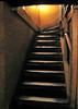 Old stairway in Ye Olde Cheshire Cheese Pub. London, England.