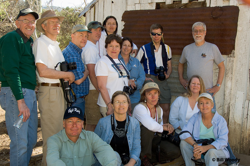 The Crew at Adobe Ranch.<br /> We were from Globe, Miami, Phoenix, Tucson, Albuquerque, and DAYTON!