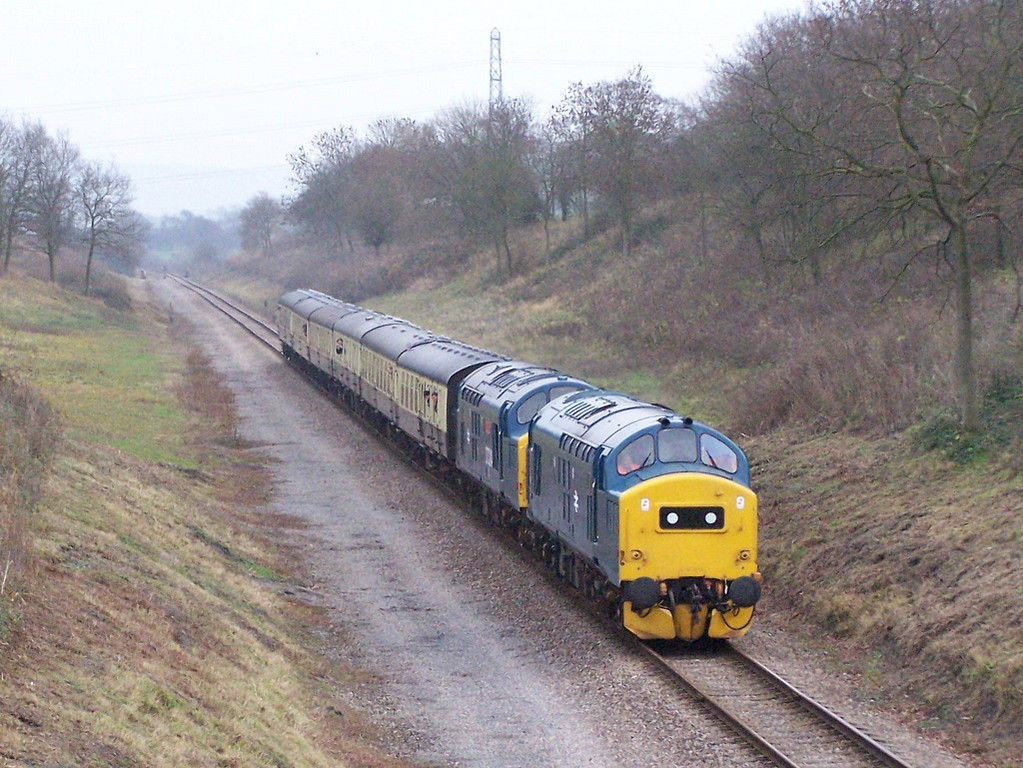 37215 and 37324, Dixton Cutting.