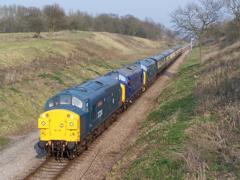 37324, 37219 and 37215, Dixton Cutting.
