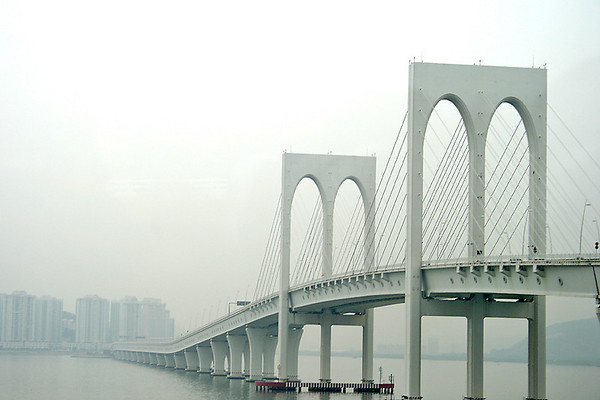 The bridges of Macau - Sai Van Bridge