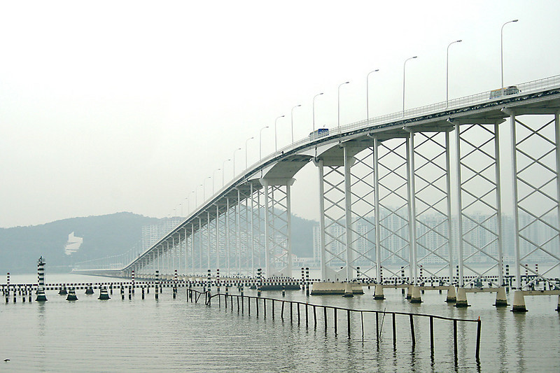 The bridges of Macau - Macau Taipa Bridge