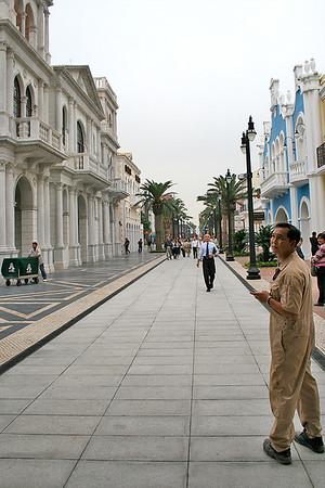 Wharf Boulevard, Fisherman's wharf, Macau