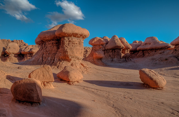 Rocks in between the Hoodoos - Goblin Valley