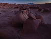 Dusk - Goblin Valley Looking South East