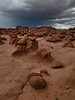 Afternoon Storm in Goblin Valley