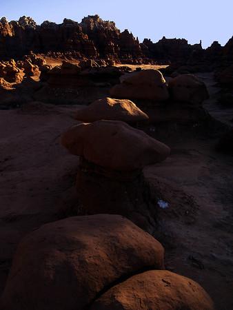 Goblin Valley - First Sunlight