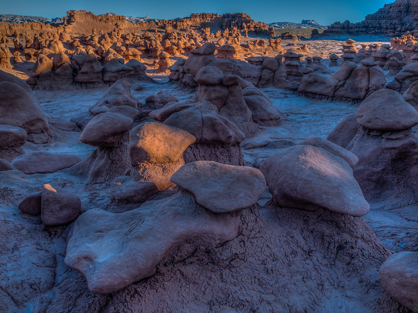 First Light - Goblin Valley