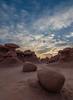 Sunrise - Stones in Golblin Valley
