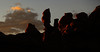Goblin Valley Sunrise Silouhette of the Cliffs