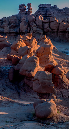 Morning Light on Goblin Valley Rocks