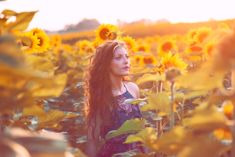 Sunflower Goddess